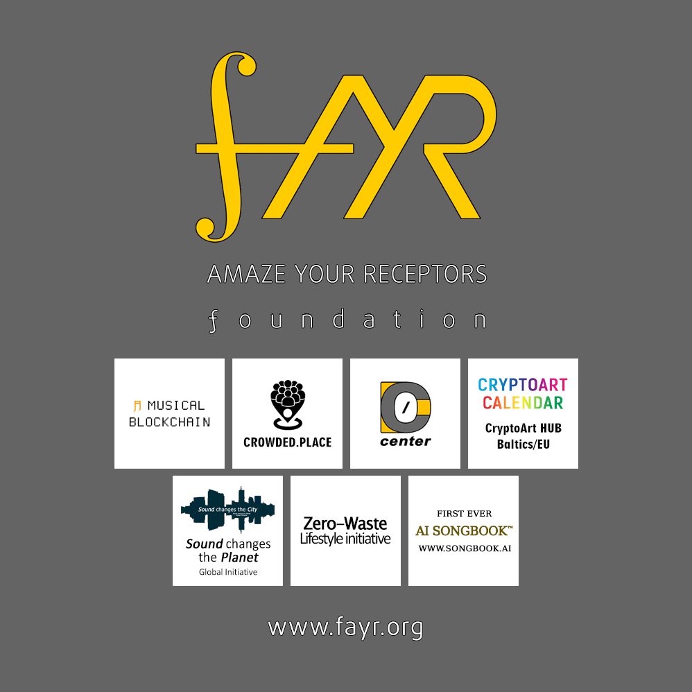 FAYR Ecosystem - foundation AMAZE YOUR RECEPTORS